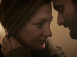 """Edie Falco and Jay Duplass in """"Outside In"""""""