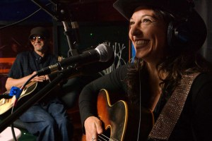 "Cami Alpert and Don Logsdon in ""Homeless: The Soundtrack"""