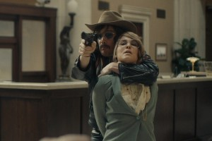 "Ethan Hawke and Noomi Rapace in ""Stockholm"""