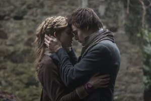 "Douglas Booth and Elle Fanning in ""Mary Shelley"""