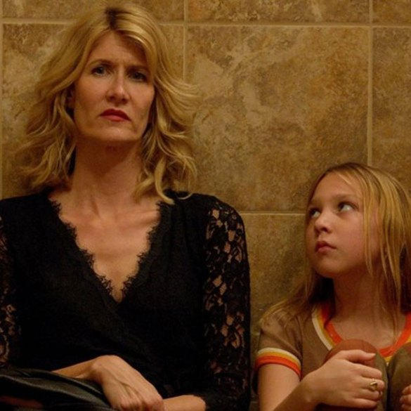 """Isabelle Nélisse and Laura Dern in """"The Tale"""""""