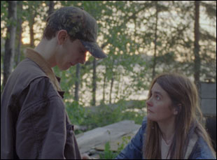 "Theodore Pellerin and Shirley Henderson in ""Never Steady, Never Still"""