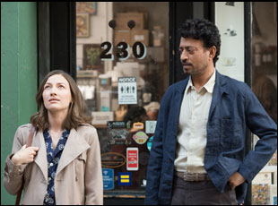 "Kelly Macdonald and Irrfan Khan in ""Puzzle"""