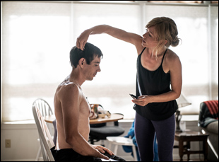 """Alex Honnold and Sanni McCandless in """"Free Solo"""""""
