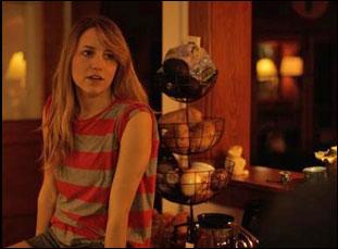 "Rebecca Weaver in ""June Falling Down"""