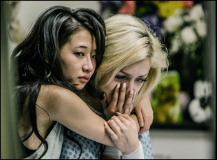 "Francesca Eastwood and Annie Q in ""MDMA"""