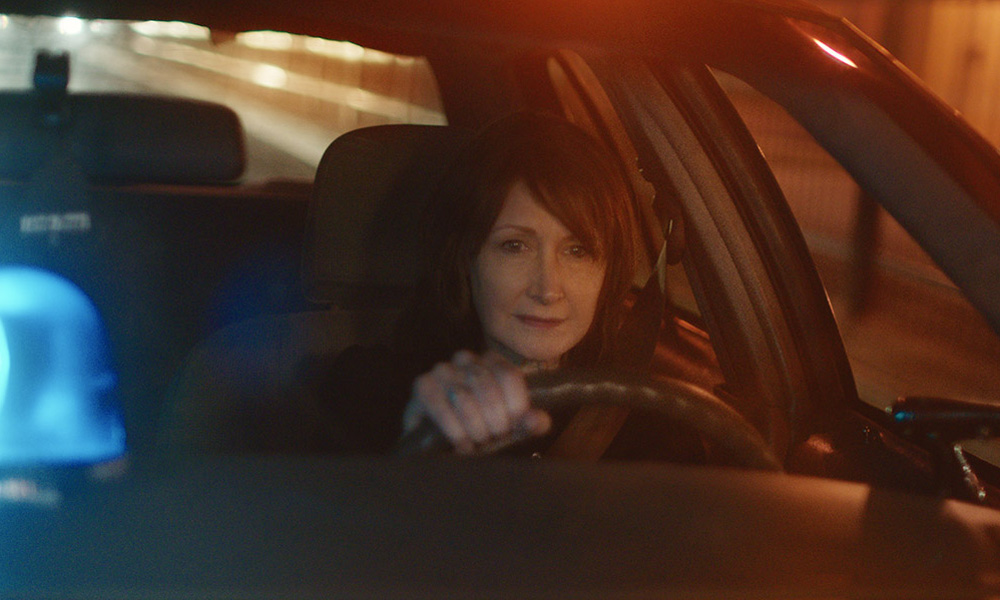 """Patricia Clarkson in """"Out of Blue"""""""