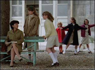 """A scene from Diane Kurys' """"Peppermint Soda"""""""