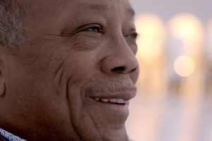 "Quincy Jones in Alan Hicks and Rashida Jones' ""Quincy"""