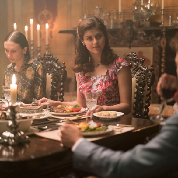 "Alexandra Daddario, Taissa Farmiga and Sebastian Stan in ""We Have Always Lived in the Castle"""