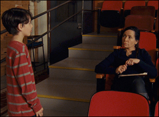 "Janeane Garofalo in ""A Bread Factory"""