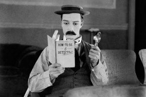 """Buster Keaton in """"The Great Buster"""""""