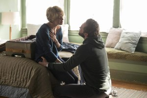 """Carrie Coon and Lee Pace in """"The Keeping Hours"""""""