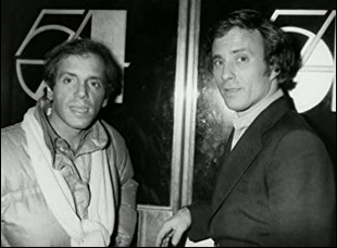 """Steve Rubell and Ian Schrager in """"Studio 54"""""""