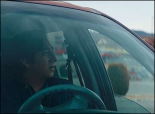 """Tony Revolori in """"The Long Dumb Road"""""""