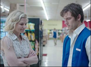 "Jennifer Morrison and Alex Pettyfer in ""Back Roads"""