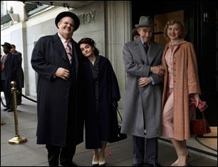 "Steve Coogan, John C. Reilly, Nina Arianda and Shirley Henderson in ""Stan & Ollie"""