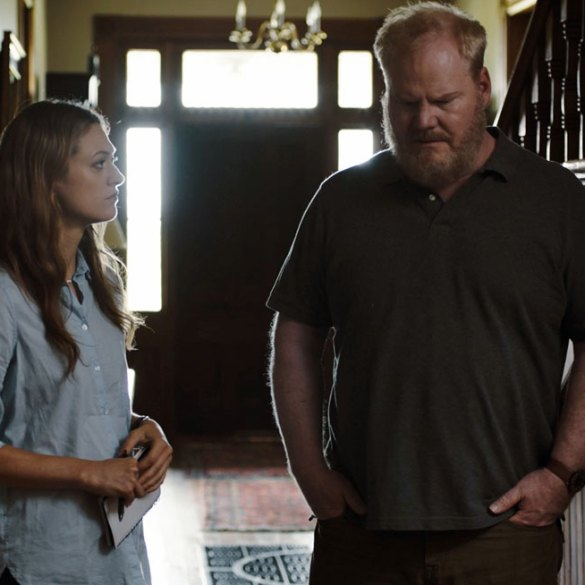 "Marin Ireland and Jim Gaffigan in ""Light from Light"""