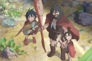 "A scene from Studio Ponoc's ""Modest Heroes"" from Kanini to Kanino"