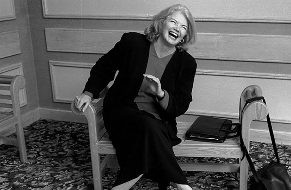 A scene from Raise Hell: The Life & Times of Molly Ivins