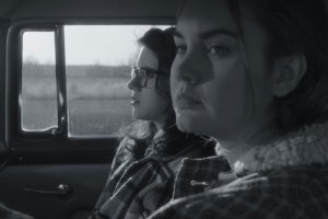 "Liana Liberato and Kara Hayward in ""To The Stars"""