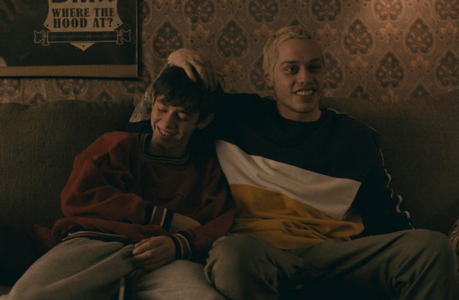"Griffin Gluck and Pete Davidson in ""Big Time Adolescence"""