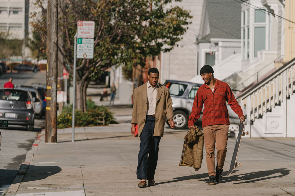 """Jimmie Fails and Jonathan Majors in """"The Last Black Man in San Francisco"""""""