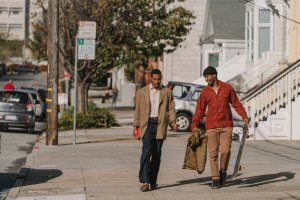 "Jimmie Fails and Jonathan Majors in ""The Last Black Man in San Francisco"""