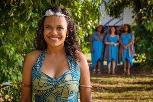 "Miranda Tapsell in ""Top End Wedding"""