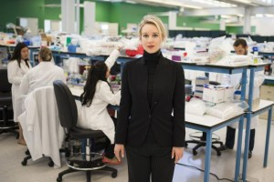 "Elizabeth Holmes in ""The Inventor: Out for Blood in Silicon Valley"""