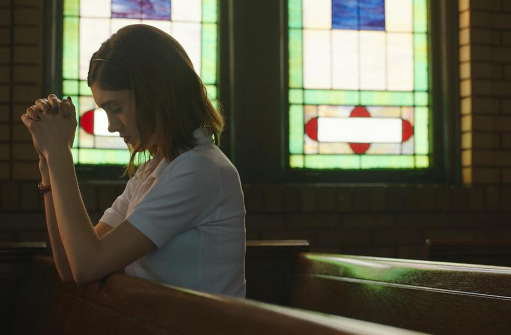 """Natalia Dyer in """"Yes, God, Yes"""""""