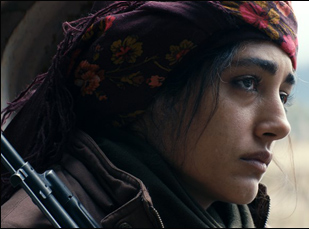 "Golshifteh Farahani in ""Girls of the Sun"""