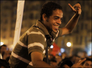 "Ahmed Hassan in Jehane Noujaim's ""The Square"""