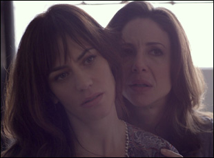 "Maggie Siff and Robin Weigert in Stacie Passon's ""Concussion"""