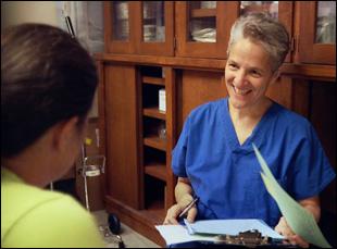 """Dr. Shelley Sella in """"After Tiller"""""""