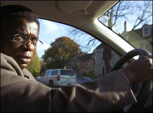 """Bishop Christopher Senyonjo in a scene from Roger Ross Williams' """"God Loves Uganda"""""""