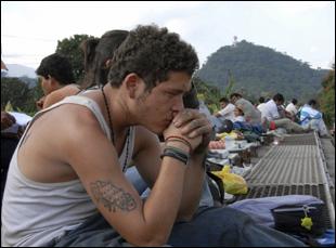 """Edgar Flores in """"Sin Nombre"""""""