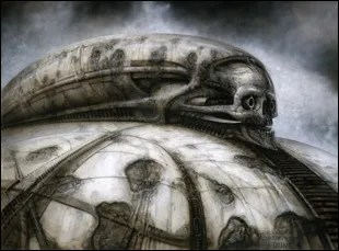 """H.R. Giger's illustrations for """"Jodorowsky's Dune"""""""