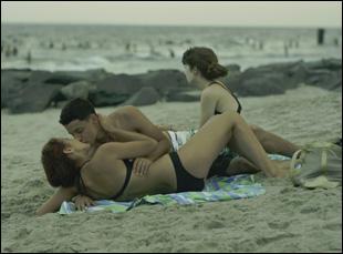 "Gina Piersanti and Giovanna Salimeni in ""It Felt Like Love"""