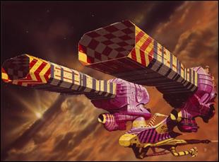 """Chris Foss illustration for """"Jodorowsky's Dune"""""""