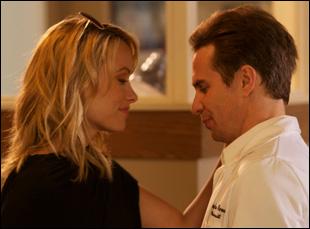 "Olivia Wilde and Sam Rockwell in ""Better Living Through Chemistry"""