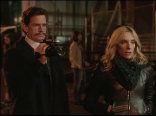 """Thomas Haden Church and Toni Collette in """"Lucky Them"""""""