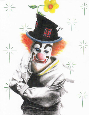 """Mark DeFriest sketch """"Clown in a Straitjacket"""" in """"The Life and Mind of Mark DeFriest"""""""