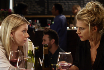 "Mary Elizabeth Ellis and Eliza Coupe in ""The Last Time You Had Fun"""