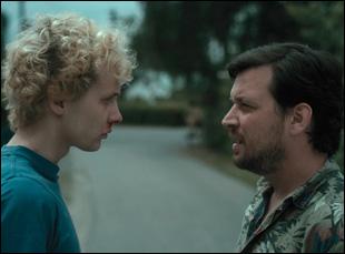 """Julius Feldmeier and Sascha Alexander Gersak in """"Nothing Bad Can Happen"""""""