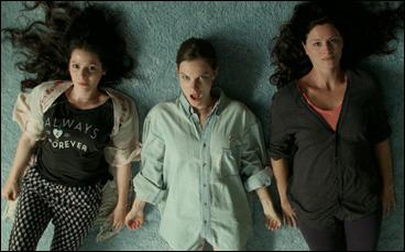 """Aleksa Palladino, Lindsay Burdge and Jennifer LaFleur in """"The Midnight Swim"""""""