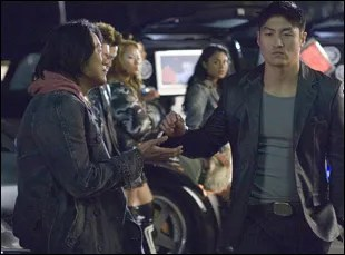 "Brian Tee and Sung Kang in ""Fast & Furious: Tokyo Drift"""
