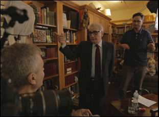 """Martin Scorsese and Steve James in """"Life Itself"""""""
