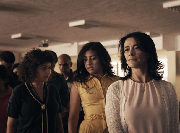 "Hiam Abbass, Alia Shawkat in ""May in the Summer"""