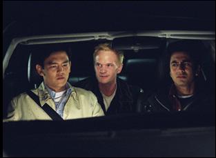 "Neil Patrick Harris, John Cho and Kal Penn in ""Harold and Kumar Go to White Castle"""